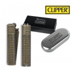 Bricheta Clipper - Grid Metal with Gift Box