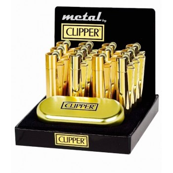 Bricheta Clipper - Gold Metal with Gift Box