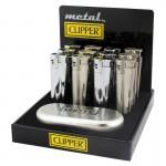 Bricheta Clipper - Silver Metal with Gift Box