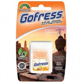 Foite aromate pentru gura - Gofress Orange (24)