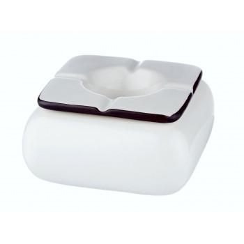 Scrumiera din ceramica - Angel White 402460 (12 cm)