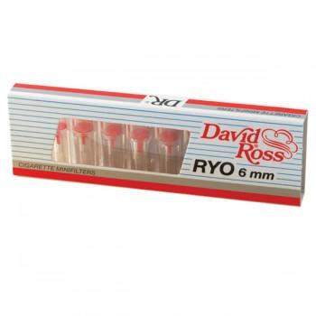 Minifiltre / Mustiucuri tigari DAVID ROSS - RYO 6 mm (10)