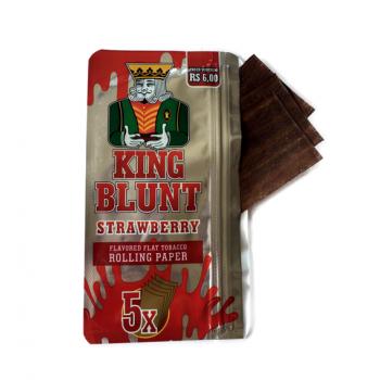 Foite din tutun pentru rulat - King BLUNT Strawberry (5)