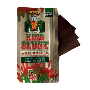 Foite din tutun pentru rulat - King BLUNT Watermelon (5)