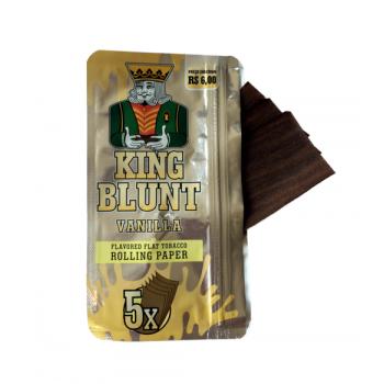 Foite din tutun pentru rulat - King BLUNT Vanilla (5)