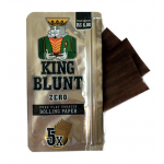 Foite din tutun pentru rulat - King BLUNT Zero (5)