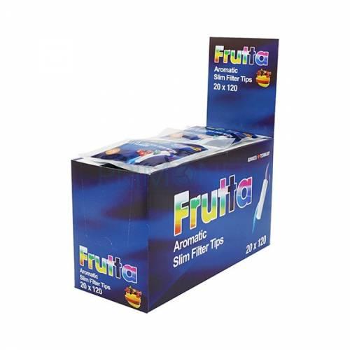 Filtre rulat Frutta - 6 mm Slim cu aroma de Cirese (120)