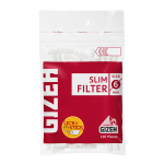 Filtre rulat Gizeh - 6 mm Slim Red (120)