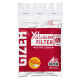Filtre rulat GIZEH - 6 mm Slim Red LONG (100)