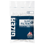 Filtre rulat Gizeh - 6 mm Slim Carbon (120)