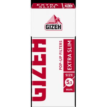 Filtre rulat Gizeh - 5,3 mm Extra Slim Pop-Up (126)