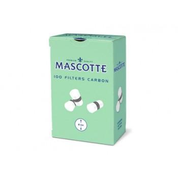 Filtre rulat Mascotte - 8 mm Carbon (100)