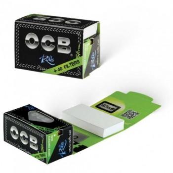 Foite rulat OCB - Premium Slim Rola + Filter Tips (4 m)