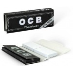 Foite rulat OCB - Premium 78 mm (1 1/4) + Filter Tips (50)