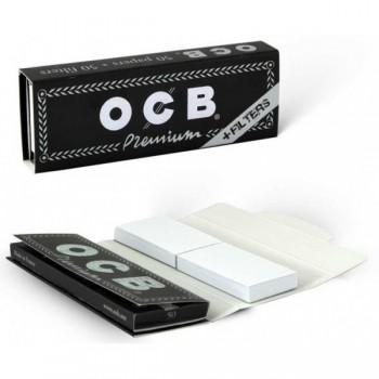 Foite rulat OCB - Premium 78 mm (1 1/4) + Filter Tips (50)