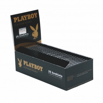 Foite rulat tutun Playboy - Platinum Extra Thin Double (100)