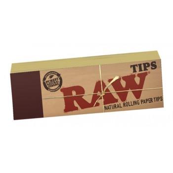 Filtre rulat RAW din carton - Filter Tips (50)