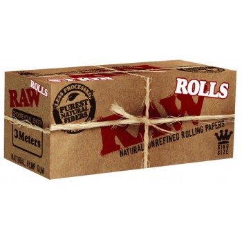 Foite rulat RAW - Brown Classic Rola (3 m)