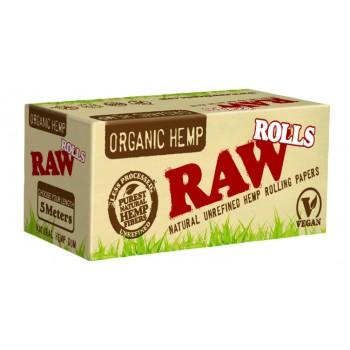 Foite rulat RAW - Organic Hemp Rola (5 m)