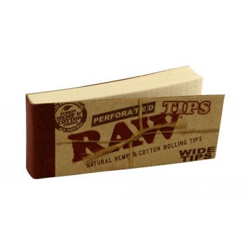 Filtre rulat RAW din carton - Filter Tips WIDE Perfored (50)