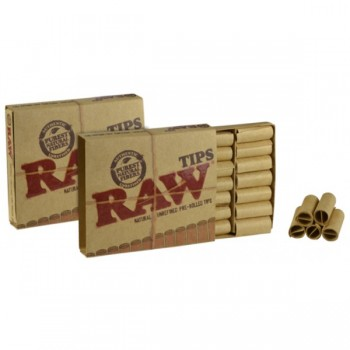 Filtre rulat RAW din carton prerulate - Filter Tips Prerolled (21)