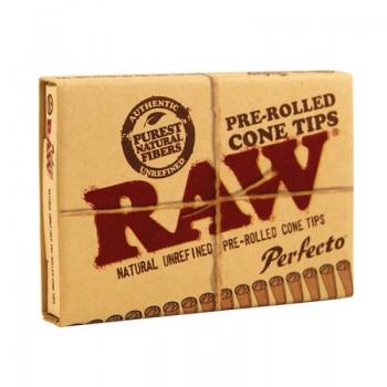 Filtre rulat RAW din carton prerulate - Perfecto Cone Tips (21)