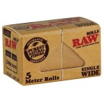 Foite rulat RAW - Single Wide Rola (5 m)
