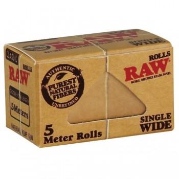 Foite rulat RAW - Single Wide Rola (5 m)