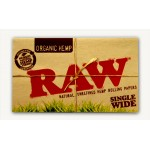 Foite rulat RAW - Organic Hemp WIDE Double (100)
