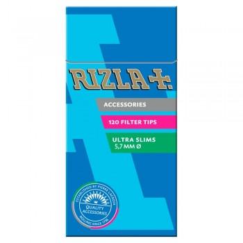 Filtre rulat RIZLA - 5,7 mm Ultra Slims Poppa Tips (120)
