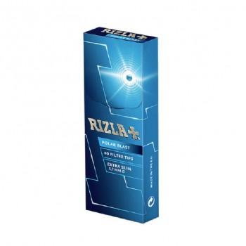 Filtre rulat RIZLA - 5,7 mm Extra Slims Click Polar Blast Poppa Tips (60)