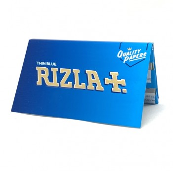 Foite rulat Rizla - Blue Double Ultra Thin (100)
