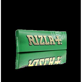 Foite rulat Rizla - Green Cut Corners (50)