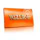 Foite rulat Rizla - Orange Double (100)