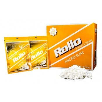 Filtre rulat Rollo - Orange 5 mm Micro Slim (140)