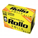 Foite rulat Rollo - Slim Rola YELLOW Hemp Organic + Filter Tips (4 m)