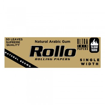 Foite rulat Rollo - Brown (50)