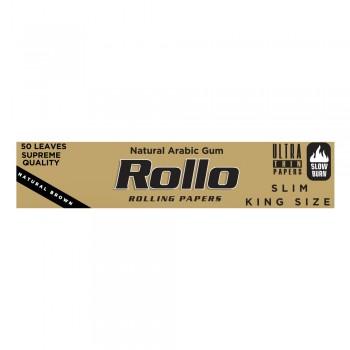 Foite rulat Rollo - Brown Slim King Size 110 mm (50)