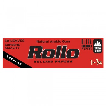 Foite rulat Rollo - Red 78 mm (1 1/4) (50)