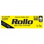 Foite rulat Rollo - Yellow Organic 78 mm (1 1/4) (50)