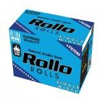 Foite rulat Rollo - Single Width Rola BLUE + Filter Tips (4 m)