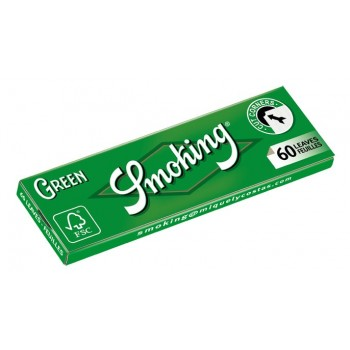 Foite rulat Smoking - Green Cut Corners (60)