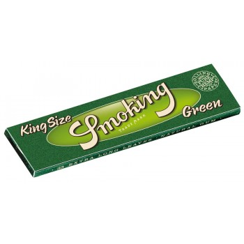 Foite rulat Smoking - Green King Size 110 mm (33)
