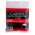 Filtre rulat Cartel - 8 mm (100)