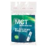 Filtre rulat MCT - 8 mm Click Menthol (100)