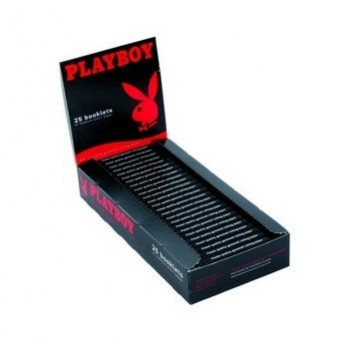 Foite rulat tutun Playboy - Red (50)
