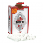 Filtre rulat Gizeh - 8 mm Red (100)