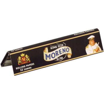 Foite rulat Moreno - Slim 110 mm Black King Size (32)