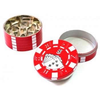 Grinder - TORO Pokerchip metal 45 mm / 3 parti