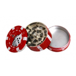 Grinder Dora - Pokerchip metal 45 mm / 3 parti
